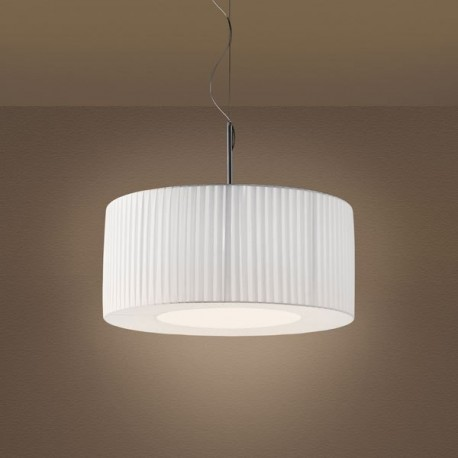 Cilindro Pleated Pendant lamp