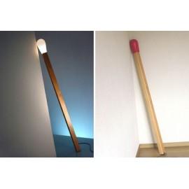 Lampadaire design allumette Match
