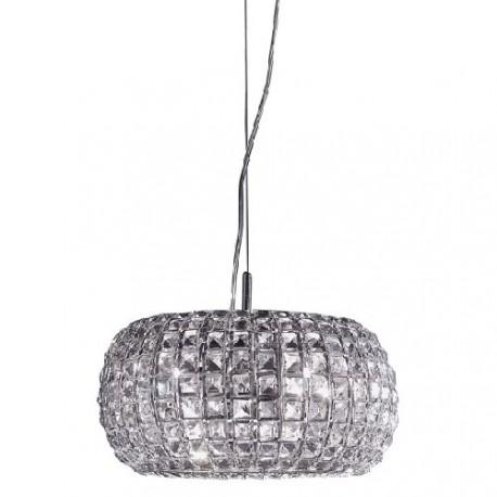 Pulsar crystal pendant lamp