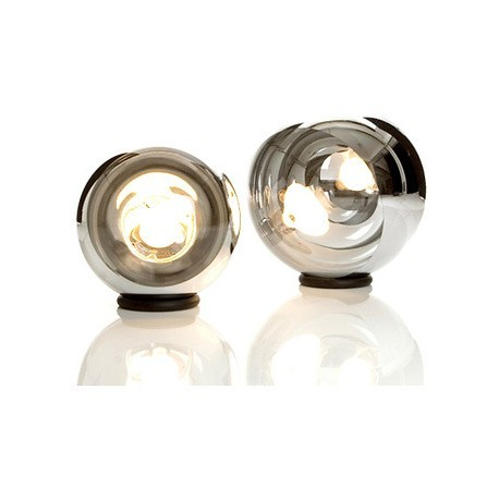 Mirror ball table lamp