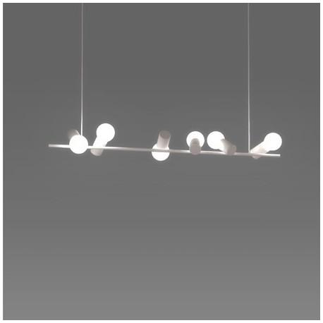 Bird pendant lamp