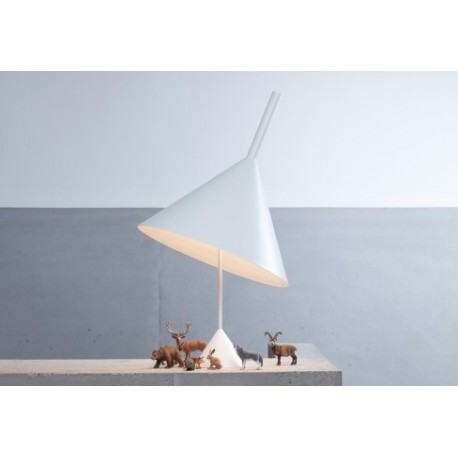 Funnel table lamp