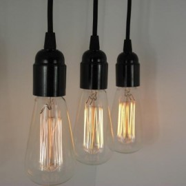 Suspension design Edison bulb
