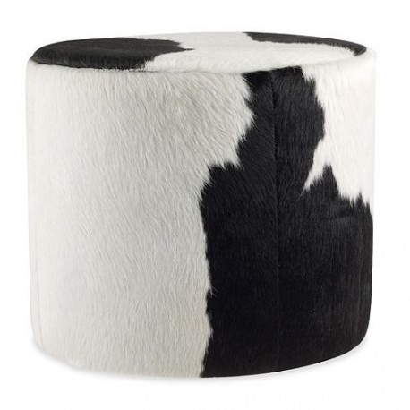 Admirable Cowhide Ottoman Round Stool Free Worldwide Delivery Custom Designer Furniture Solution Trade Commercial Pricing Available Uwap Interior Chair Design Uwaporg