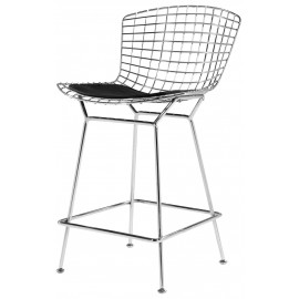 Chaise de bar design Bertoia