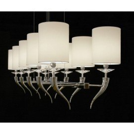 Loving arms rectangular Chandelier