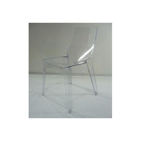 Chaise design poly lot de 2