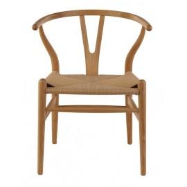 Wegner Wishbone CH24 Y chair in ash