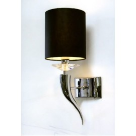 Loving arms wall lamp