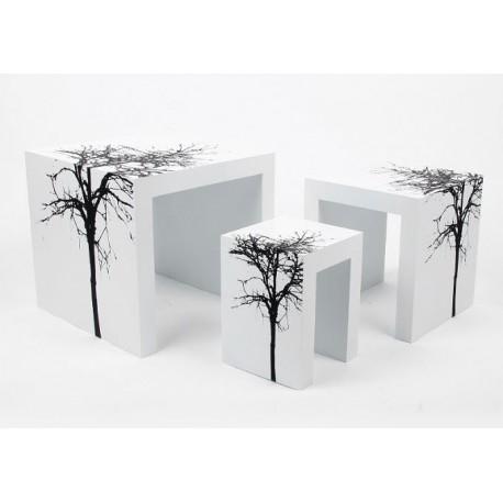 Set de 3 tables gigognes ZEN