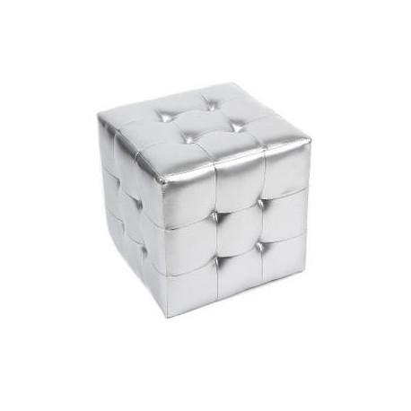 Tabouret en 4 touffe Cube Ottoman
