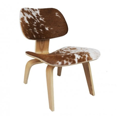 Chaise design style Eames LCW Version Pony