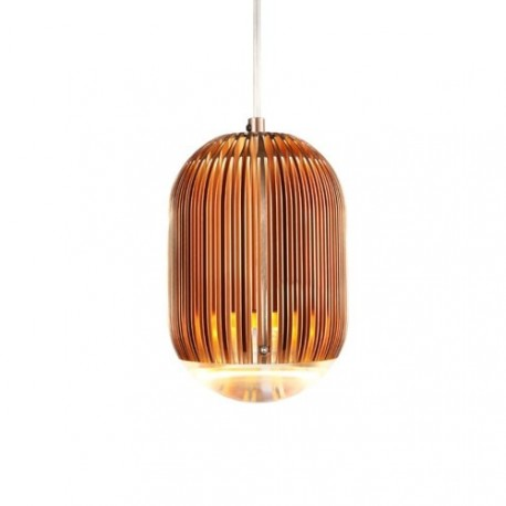 Fin Obround LED pendant lamp