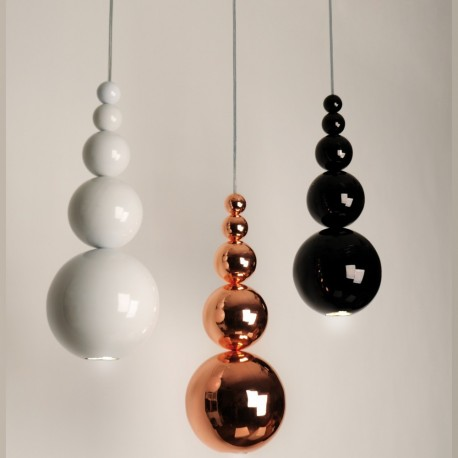Bubble LED pendant lamp design