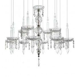 Limelight luster chandelier