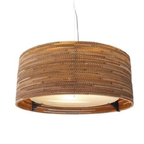 Drum Scraplight pendant lamp