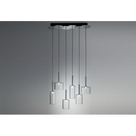 Spillray pendant lamp 6 lights