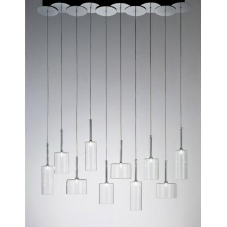 Spillray pendant lamp 10 lights