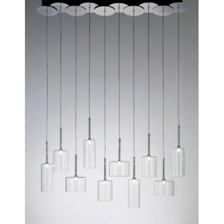 Suspension design Spillray 10 lumières
