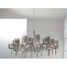 Spillray chandelier 20 lights round