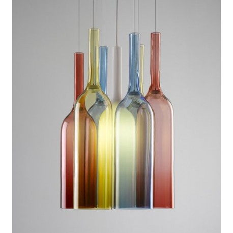 Jar RGB pendant lamp
