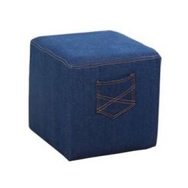 Denim Jeans stool Ottoman