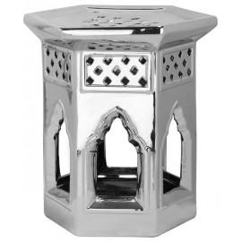 Ceramic Paradise garden stool