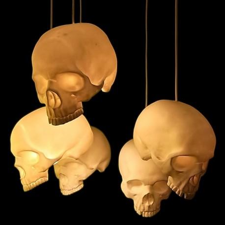 Skull pendant lamp
