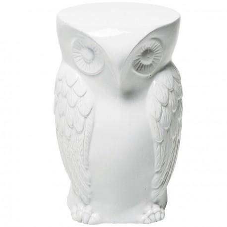 Owl ceramic stool