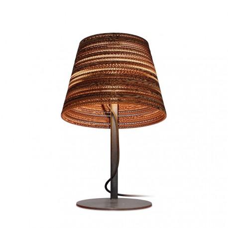 Lampe de table en carton design Tilt