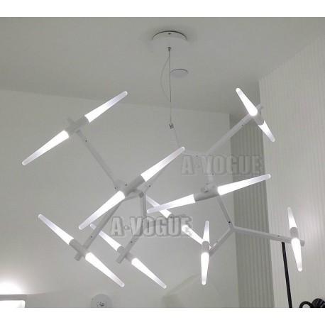 Agnes LED Chandelier design in white