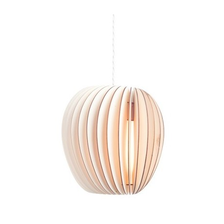 Pirum wood pendant lamp