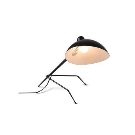 Lampe de table design MCL tripod Serge Mouille