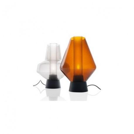 Lampe de table design Metal glass