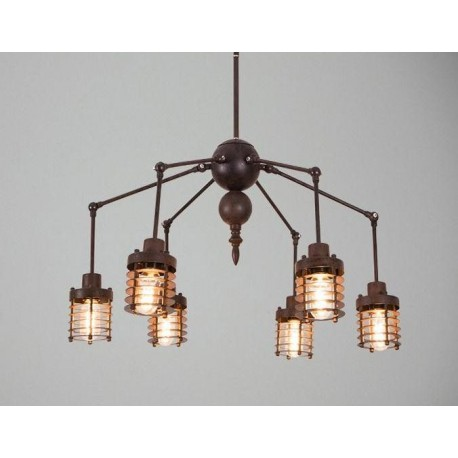Industrial Vintage Spider chandelier pendant lamp