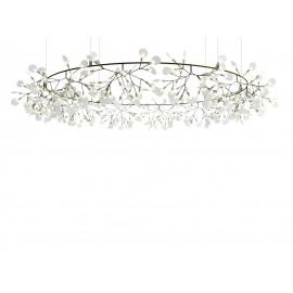 Chandelier Lustre LED design Heracleum The Big O forme ronde