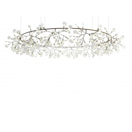 Heracleum The Big O LED Round Chandelier Lustre