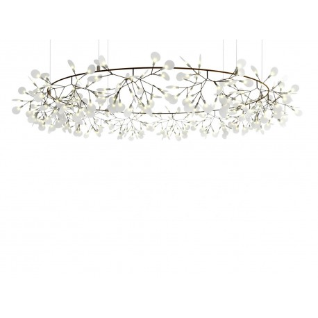 Chandelier Lustre LED design Heracleum The Big O forme ronde