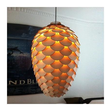 Pinecone pendant lamp