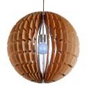 Helios wooden pendant lamp