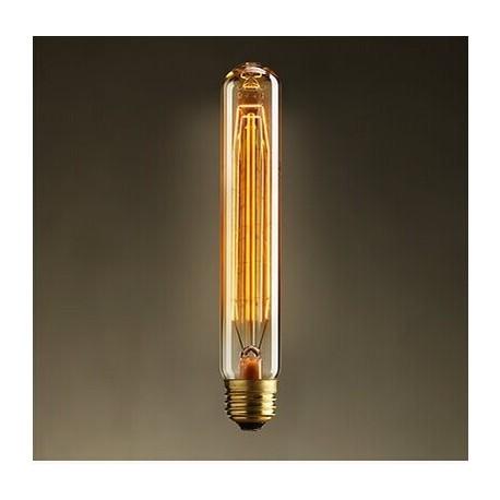 Edison Filament Light tube Bulb T25