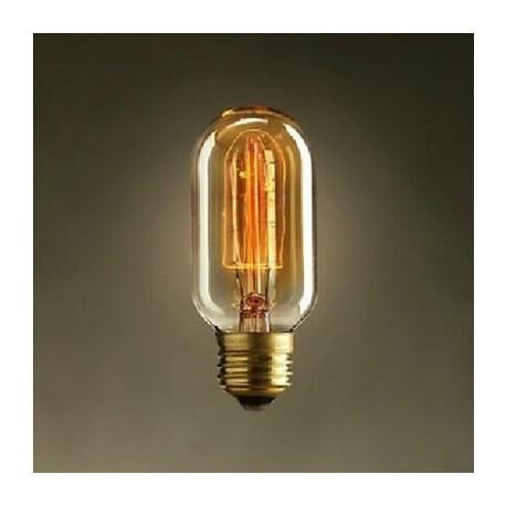 Edison Filament Light tube Bulb T45
