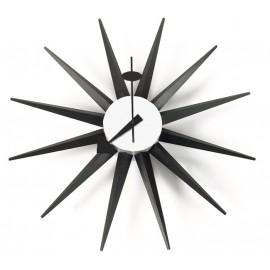 Horloge Nelson Sunburst Noir