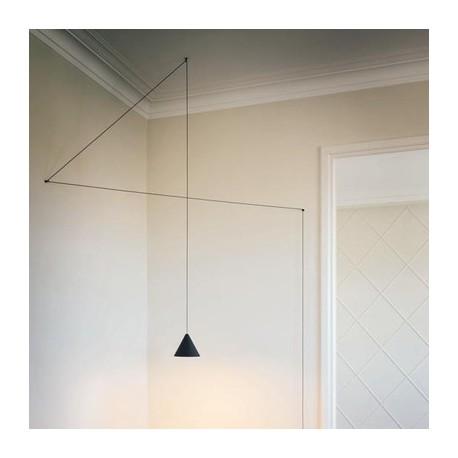 Suspension design String cone