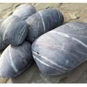 Collection Jupiter design Rock cushion pouf set of 6pcs
