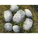Collection Venus design Rock cushion pouf set of 6pcs