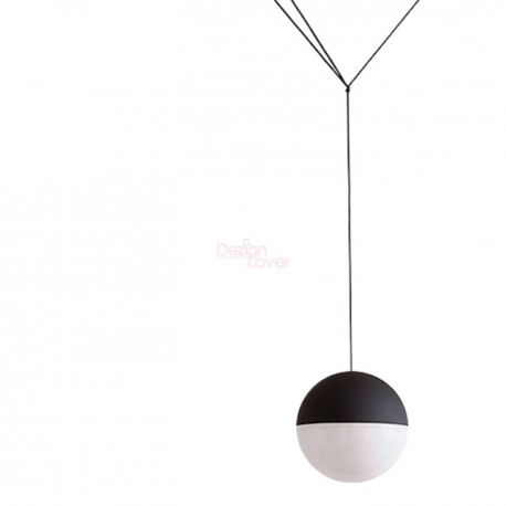 String sphere pendant lamp