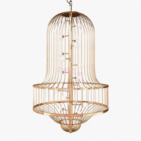 Chandelier lustre design LUCIOLA