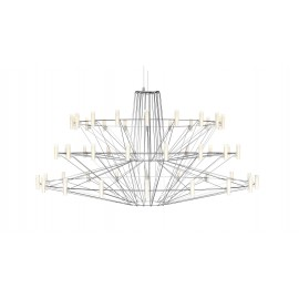 Chandelier lustre LED design Coppélia