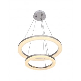 Suspension moderne LED 2 Ring forme ronde